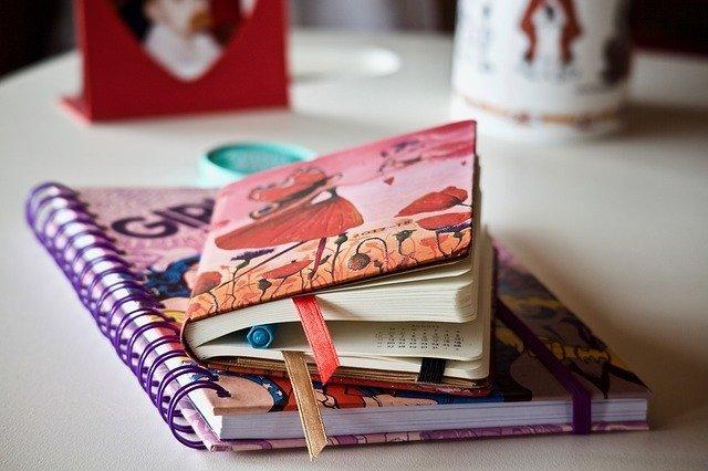 Quaderni e agende per appunti e note