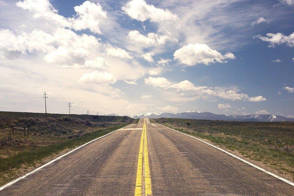 Strada e orizzonte